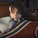Alex dans son lit